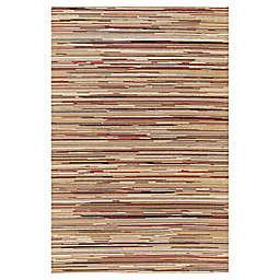 Striation Stripes 5-Foot 3-Inch x 7-Foot 7-Inch Indoor Rug