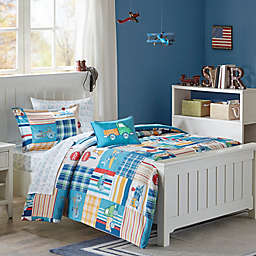 Mi Zone Kids Choo Choo Charlie Comforter Set in Blue