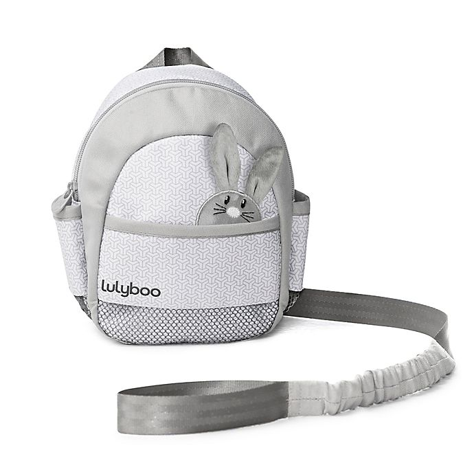 Alternate image 1 for LulyBoo Toddler Safety Harness with Backpack in Grey