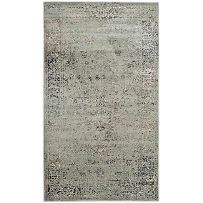 Alternate image 1 for Safavieh Vintage Amelia 3-Foot 3-Inch x 5-Foot 7-Inch Area Rug in Light Blue