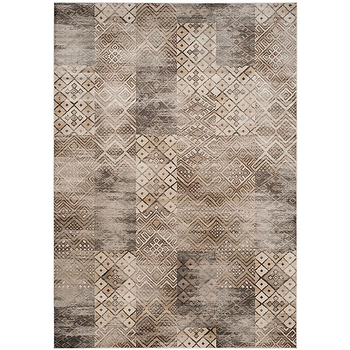 Alternate image 1 for Safavieh Vintage Patchwork 8-Foot x 11-Foot 2-Inch Area Rug in Stone