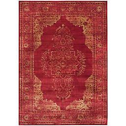 Safavieh Vintage Brittany 8-Foot x 11-Foot 2-Inch Area Rug in Rose