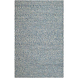 Safavieh Natural Fiber Penelope 5-Foot x 8-Foot Area Rug in Blue/Ivory
