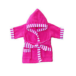Whimsical Charm Size 12M Baby Bathrobe in Pink