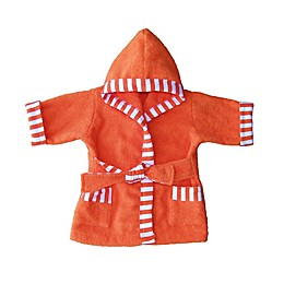 Whimsical Charm Size 12M Baby Bathrobe in Orange
