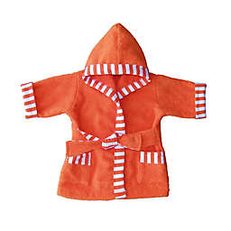 Whimsical Charm Size 12M Baby Bathrobe in Orange