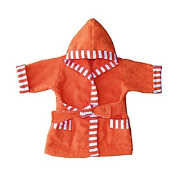 Whimsical Charm Size 18M Baby Bathrobe in Orange