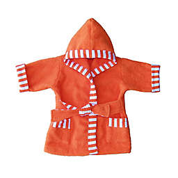 Whimsical Charm Size 18M Baby Bathrobe in Orange