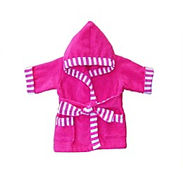 Whimsical Charm Size 24M Baby Bathrobe in Pink