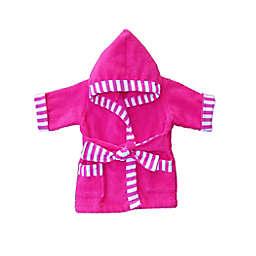Whimsical Charm Baby Bathrobe in Pink