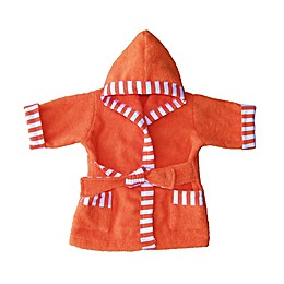Whimsical Charm Size 24M Baby Bathrobe in Orange