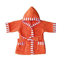 Whimsical Charm Size 24M Baby Bathrobe in Orange