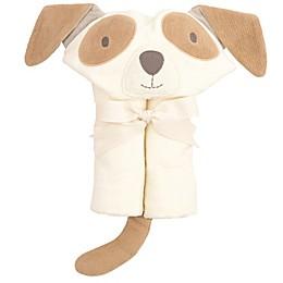 Elegant Baby Hooded Bath Wrap Towel in Tan