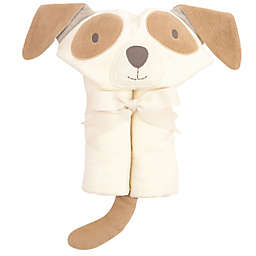 Elegant Baby Hooded Bath Wrap Towel in Tan