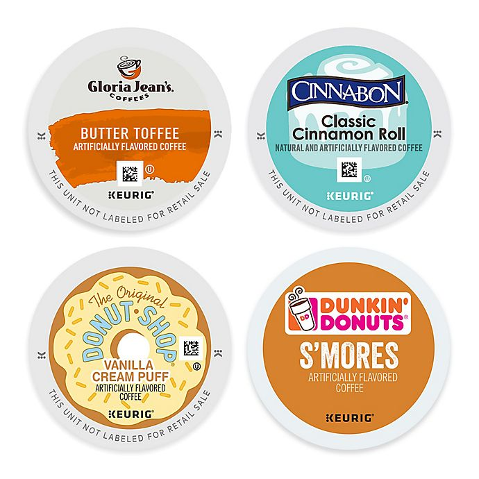 Alternate image 1 for Keurig® K-Cup® Pods Sweet Flavors Coffee Selections Collection