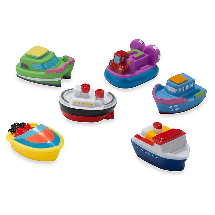 Alternate image 1 for Elegant Baby® Boat Squirties Bath Set