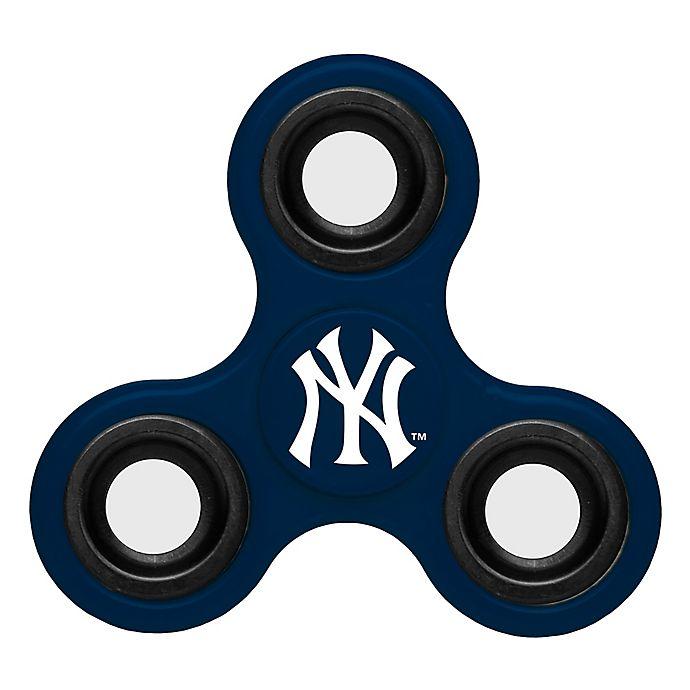 Alternate image 1 for MLB New York Yankees 3-Way Diztracto Spinner