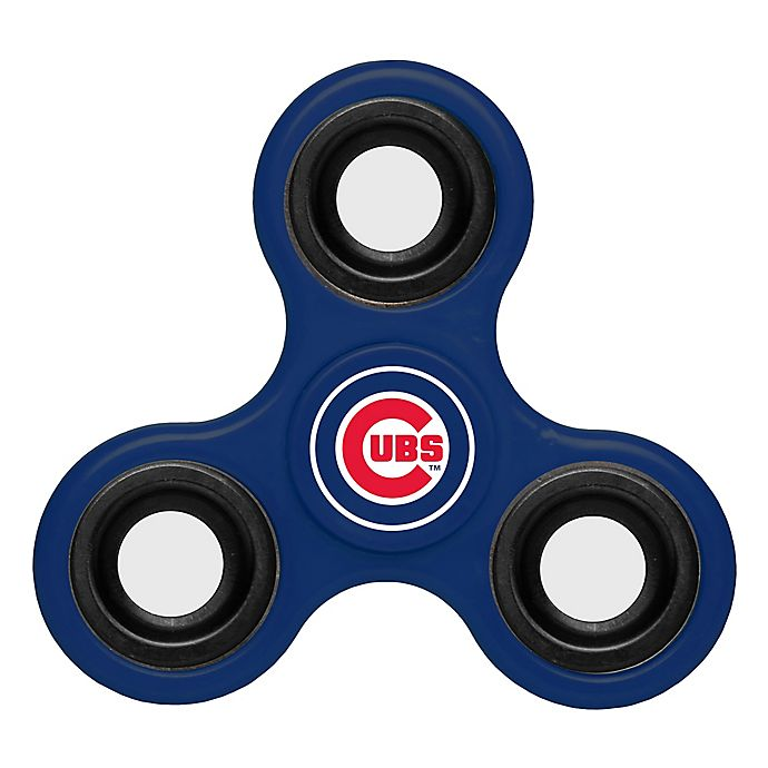 MLB Chicago Cubs 3-Way Diztracto Spinner