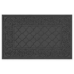 Weather Guard™ Rosalie 24-Inch x 36-Inch Door Mat in Charcoal