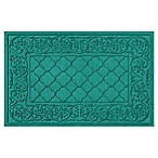 Weather Guard™ Rosalie 24-Inch x 36-Inch Door Mat in Aqua
