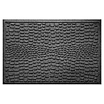 Weather Guard™ Alligator 24-Inch x 36-Inch Door Mat in Charcoal