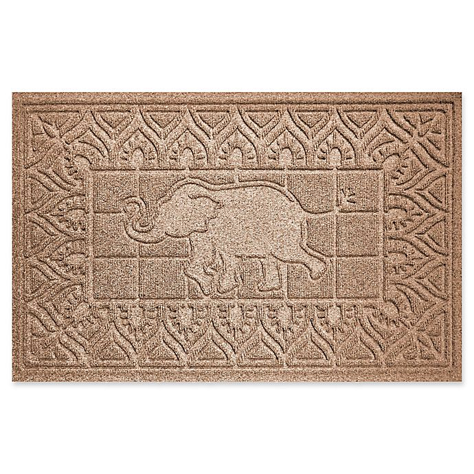 Alternate image 1 for Weather Guard™ Elephant 24-Inch x 36-Inch Door Mat in Brown