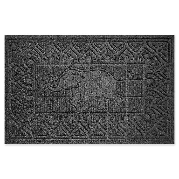 Alternate image 1 for Weather Guard™ Elephant 24-Inch x 36-Inch Door Mat in Charcoal