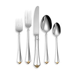 Golden Juilliard 5-Piece Place Setting