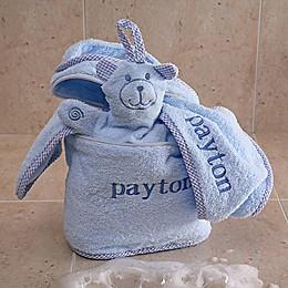 Terry Bath Set in Blue
