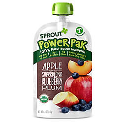 Sprout® 4.22 Ounce Organic Toddler Puree Pouch in Blueberry Superfruit