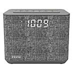 iHome™ FM Bluetooth Alarm Clock in Grey with USB Port