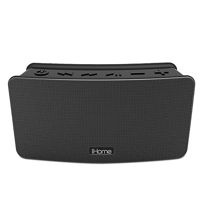 Alternate image 1 for iHome™ Waterproof Bluetooth Portable Speaker in Black