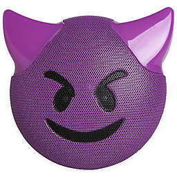 JAM® Wireless Bluetooth Trouble Emoji Speaker in Purple