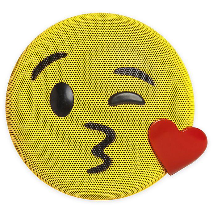 Alternate image 1 for JAM® Wireless Bluetooth Kiss Emoji Speaker in Yellow