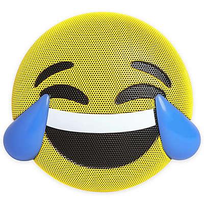 JAM® Wireless Bluetooth Tears of Joy Emoji Speaker in Yellow