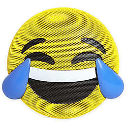 JAM® Wireless Bluetooth Tears of Joy Emoji Speaker in Yellow