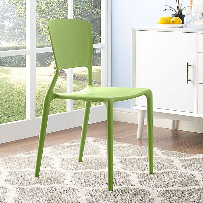 Alternate image 1 for Modway Fine Dining Side Chair in Green