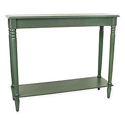 Décor Therapy Traditional Rectangle Console Table