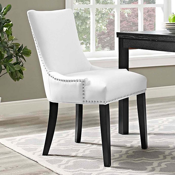 Bed Bath And Beyond Beaumont: Modway Marquis Faux Leather Dining Side Chair