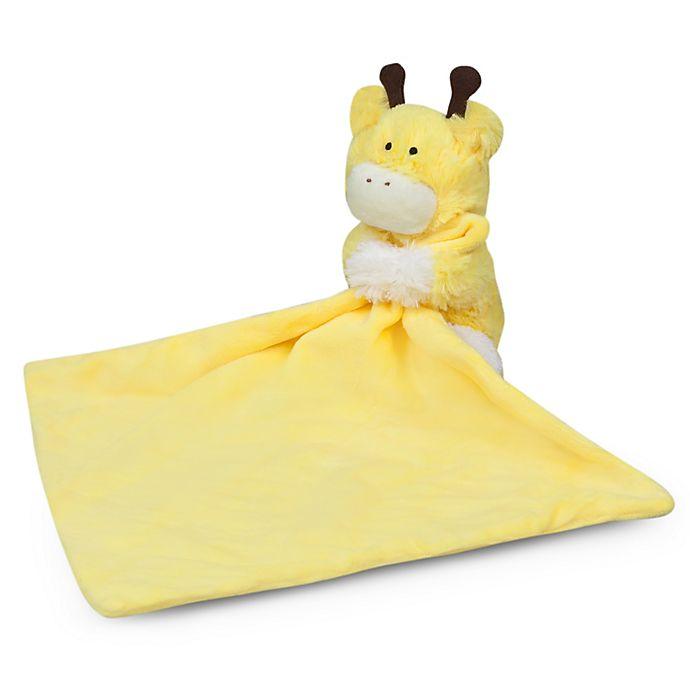 Alternate image 1 for Waddle® 2-Piece Lovie Giraffe Plush and Blanket Set in Yellow