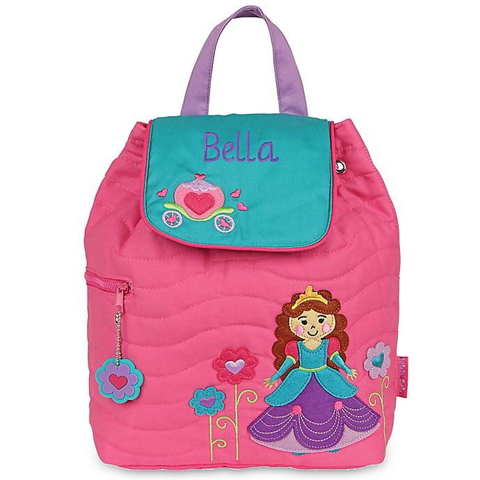 Alternate image 1 for Stephen Joseph® Princess Quilted Backpack in Pink