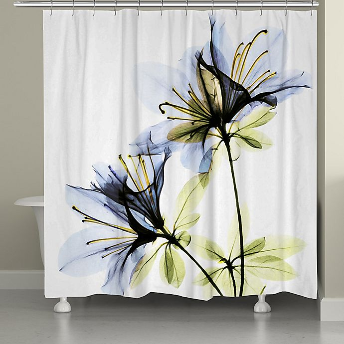 Alternate image 1 for Laural Home Azalea Shower Curtain