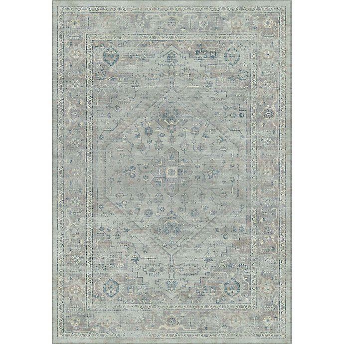 Alternate image 1 for Safavieh Vintage Melania 8-Foot 10-Inch x 12-Foot 2-Inch Area Rug in Light Blue