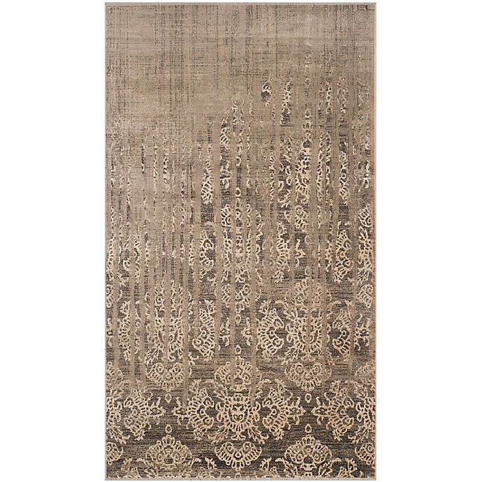 Alternate image 1 for Safavieh Vintage 3-Foot 3-Inch x 5-Foot 7-Inch Area Rug in Mouse
