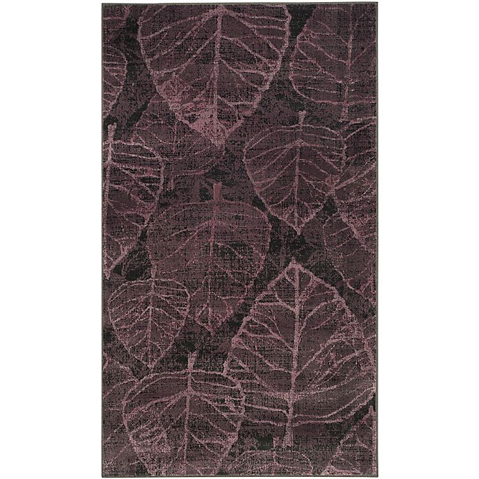 Alternate image 1 for Safavieh Vintage Marlena 3-Foot 3-Inch x 5-Foot 7-Inch Area Rug in Charcoal/Multi