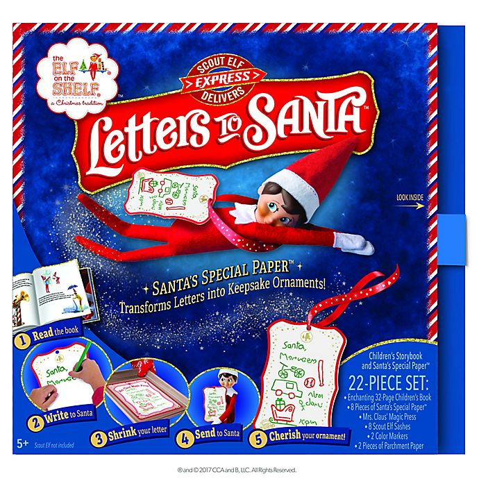 Alternate image 1 for The Elf On The Shelf® Letters To Santa