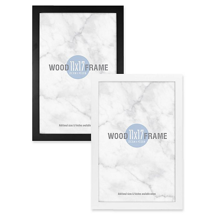 Alternate image 1 for Gallery 11-Inch x 17-Inch Wood Frame