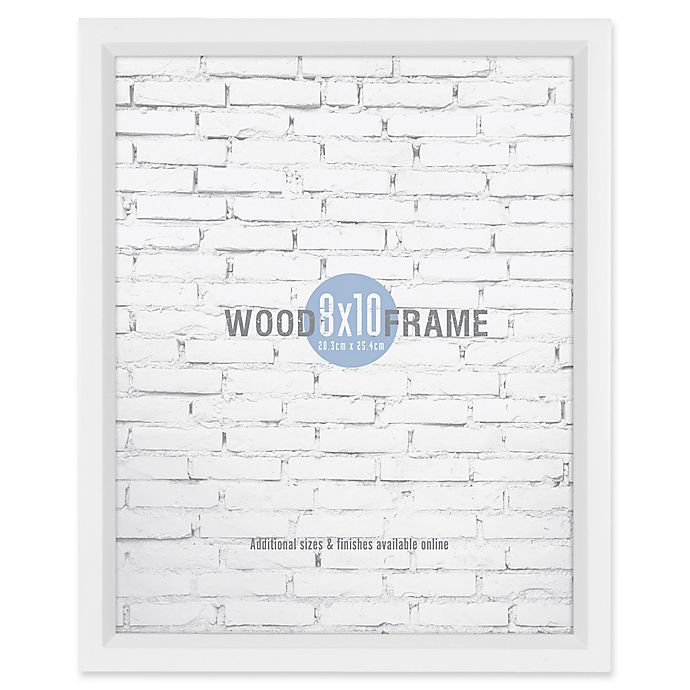 Alternate image 1 for Gallery 8-Inch x 10-Inch Wood Frame in White