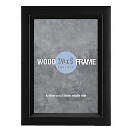 Gallery 3.5-Inch x 5-Inch Wood Frame in Black