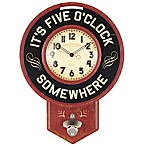Bottle Cap Wall Clock